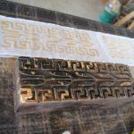 ご案内の記録・エミリアロマーニャ州から伝来。錆を使った染色技術